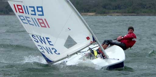 Johan Backstrom from Sweden, 4th overall Radial.