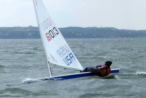 Kate Donnelly, 5th in the Radial fleet