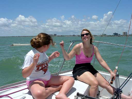 Sailing for fun on Friday