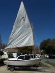 1990s Home built boat, Fiberglass over Wood, Sailboat