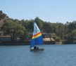 1989 Holder 14 sailboat