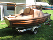 2010 Tinkerbelle II, converted Old Town Whitecap dinghy sailboat