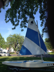 1971 Dolphin Senior sailboat