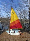 1985 Dyer Dhow Midget sailboat
