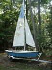 Tanzer 14 sailboat
