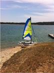 2012 Windrider 17 sailboat