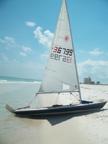 1989 Laser sailboat