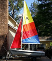 1995 Precision 15 sailboat