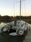 1970 Iroquois MKII catamaran, 30 ft., sailboat