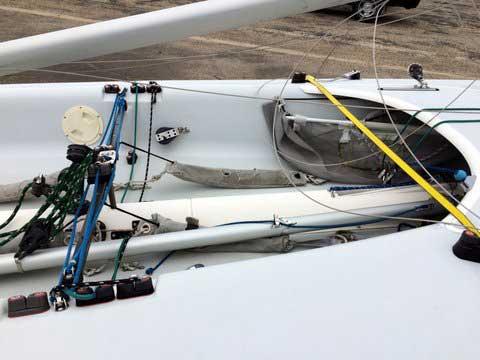 Johnson 18, 1995 sailboat