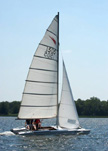 Shearwater catamaran 16 ft, 1963 sailboat