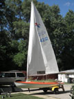 1976 Banshee 13 sailboat