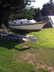 1980 Bayfield 29C sailboat
