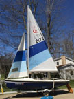 1984 C&L 16 sailboat