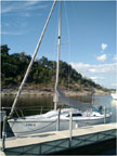 1997 Capri 22 sailboat