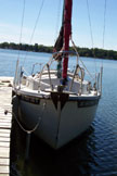 1984 ComPac 19 sailboat