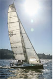 1997 Dibley 25 sailboat