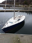 1987 Impulse 26 sailboat