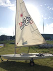 1991 Laser sailboat