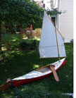 2013 Adirondack Guide Boat. 15ft., sailboat