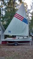 1973 Herreshoff America 18 catboat