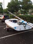Melges MC Scow sailboat