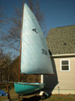 1965 Newport Kite sailboat