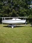 1999 Precision 16.5 sailboat