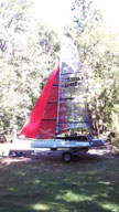 2010 Weta Trimaran sailboat