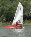 2002 K Yachting Class Cup 16' sailboat