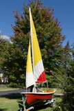 1989 Dyer Dhow 12.5 Dinghy sailboat