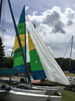 2013 Hobie16 sailboat