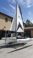 2014 Windrider 17 sailboat
