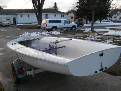 Johnson 420 sailboat
