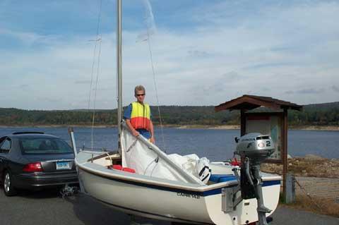 Capri 14.2 sailboat