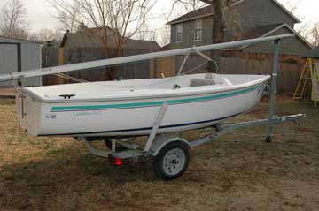 2001 Capri 14.2 sailboat