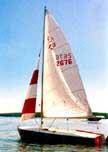 Flying Scot sailboats