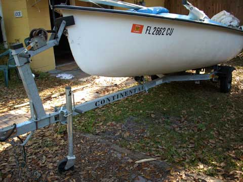 Pintail 14 sailboat
